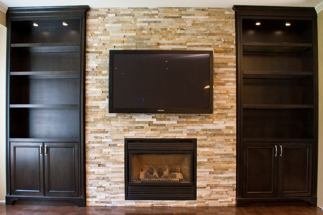 Built In Bookshelves Around Fireplace Glass Shelves Built-in Units Around Fireplace