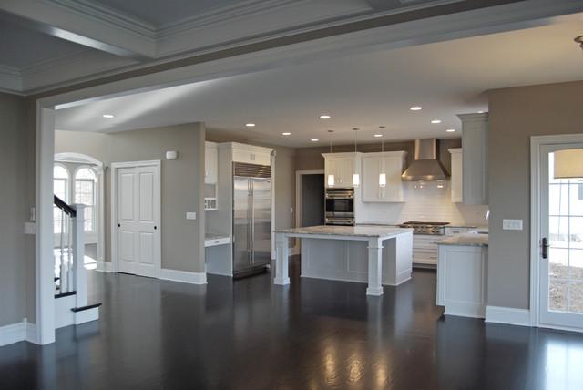 custom floor plan aps kitchen offset dinette area traditional floor plans custom homes chesapeake floor plan built