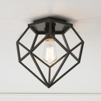 Young House Love Geometric Diamond Ceiling Light - Flush ...