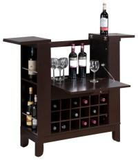 Baxton Studio Modesto Brown Modern Dry Bar and Wine ...