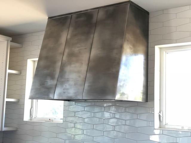 Copper ceiling panels