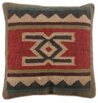 Navajo Pillow - Eclectic - Decorative Pillows - by Wisteria