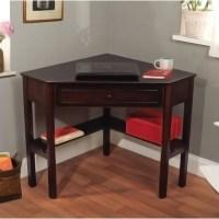 Simple Living Espresso Corner Writing Desk - Contemporary ...