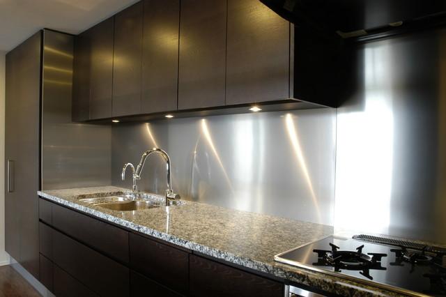 mira stainless steel backsplash kitchen panel modern kitchen products asked richly detailed panels clean