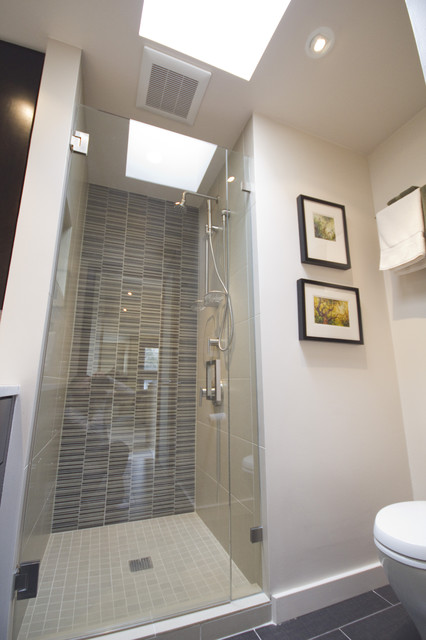 Outdoor Lighting Houzz Capitol Hill Condo Bathroom Remodel - Modern - Bathroom