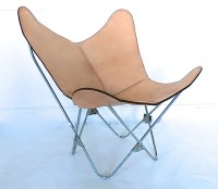 "ORIGINAL BKF ""Prima"" Butterfly Chair in Leather and Chrome ..."