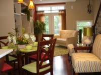 Bright Model Townhouse - Contemporary - Living Room ...
