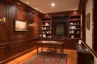 Georgian Colonial Custom Home - Traditional - Home Office ...