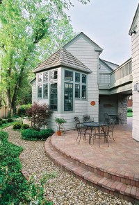 New Pea Gravel Patio Project! & Backyard Inspiration - The ...