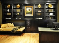Horizontal murphy bed - Traditional - Home Office