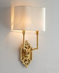 """Visual Comfort """"Silhouette Fretwork"""" Sconce - Traditional ..."""