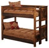 Rustic Wood Bunk Beds