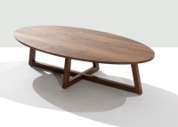 Finn Oval Coffee Table - Contemporary - Coffee Tables - by ...