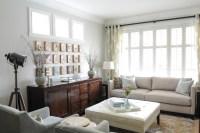 Serene Family Home - Transitional - Living Room ...