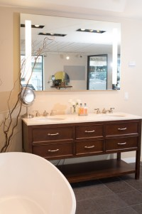 Double Freestanding Vanity - Traditional - Bathroom ...