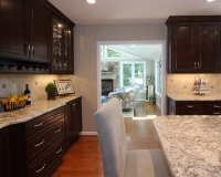 White Spring Granite Kitchen Design Ideas, Remodels & Photos