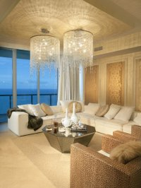 Chandelier Living Room Design Ideas, Pictures, Remodel and ...