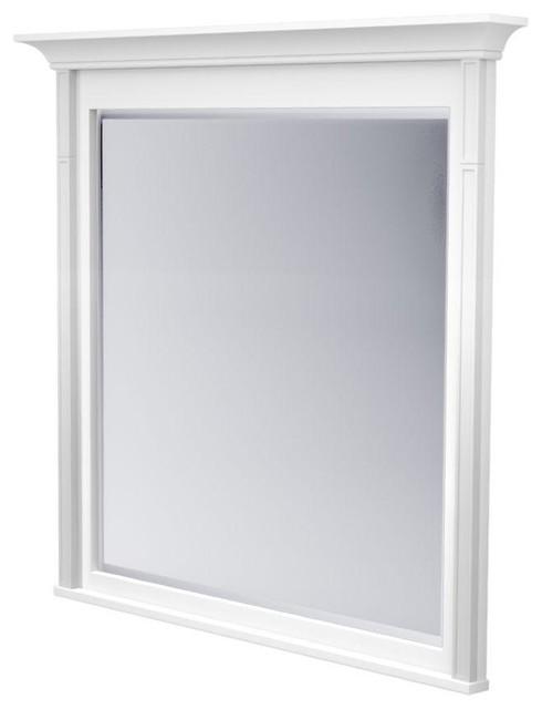 Bathroom Mirrors Framed White
