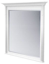 Bathroom Mirrors Framed White