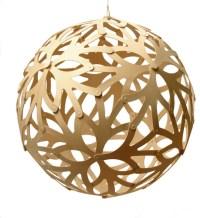 Floral Pendant Lamp, Natural, 400 - Modern - Pendant ...