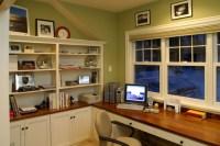 Farmhouse Cottage Office Study - Farmhouse - Home Office ...