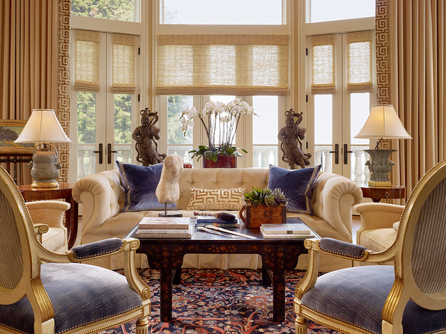 Fall Ceiling Wallpaper Design San Francisco City Chateau Traditional Living Room