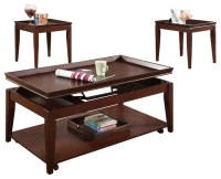 Clemens 3-Pc Occasional Table Set - Contemporary - Coffee ...