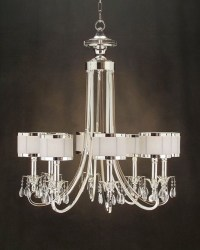 John Richard 8 Light Chandelier AJC-8512 - Modern ...