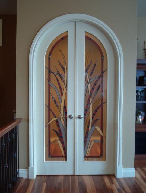 Interior Door: Decorative Glass Interior Doors