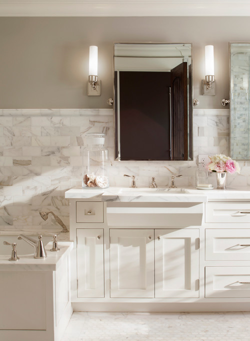 Agreeable Gray Vs Revere Pewter 8 Inexpensive Bathroom Updates Anyone Can Do (photos
