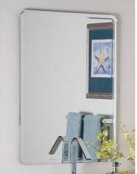 large frameless bathroom mirror - 28 images - decor ...