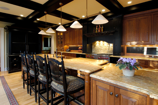 Award Winning Historic Colonial Revival Kitchen and Family