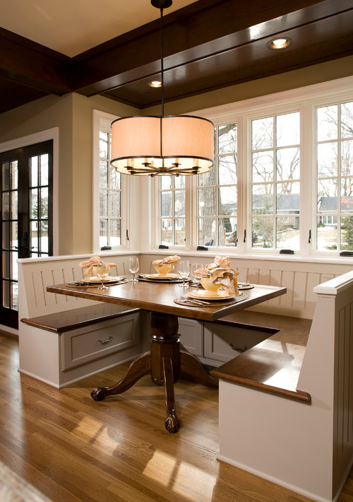 table banquette design dining seating