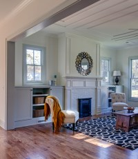 Living Area - New Orleans Style Woodwork - Rustic - Living ...