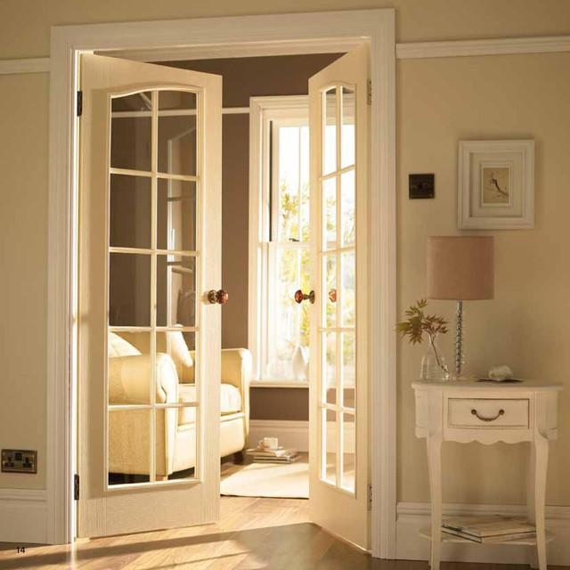 French Door to TV Room