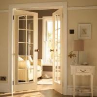 French Door to TV Room - Traditional - Interior Doors