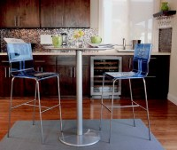 Kitchen bar table seating - Modern - Kitchen - los angeles ...