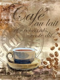 Coffee Collage Wall Art contemporary-wallpaper