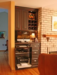 Home office / hidden storage - Traditional - Home Office ...