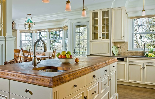 This Old House Kitchen Island This Old House - West Newton Hill Kitchen