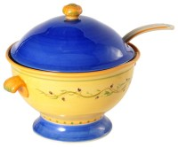 Pistoulet Soup Tureen with Ladle - Traditional - Serving ...