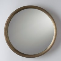 Higgins Round Mirror - Rustic - Wall Mirrors - by ...