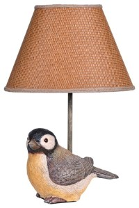 Country - Cottage Chirp Bird With Woven Grass Shade Small ...