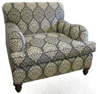 Custom Chair Duralee Fabric - Contemporary - Upholstery ...