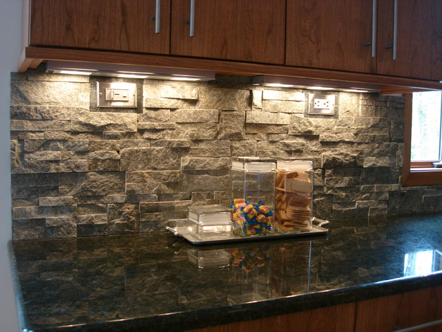 stacked stone backsplash contemporary kitchen cleveland kitchen backsplash contemporary kitchen metro