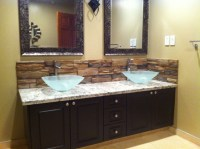 Bathroom Backsplash - Mediterranean - Bathroom - calgary ...
