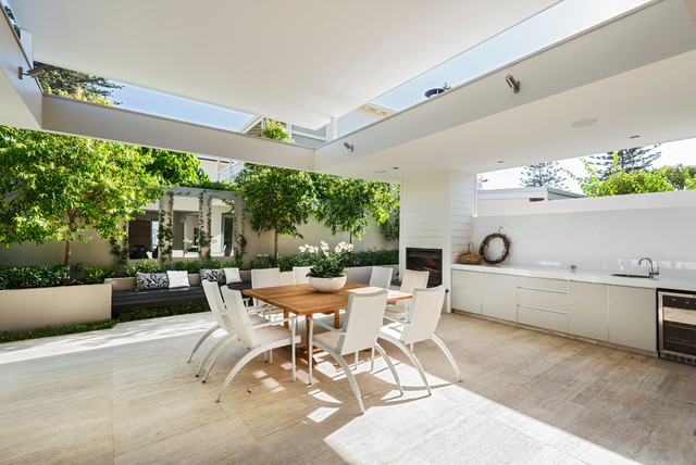 Patio Lighting Ideas Perth Ozone Extension/Renovation - Contemporary - Patio - perth - by Liz Prater Design Home