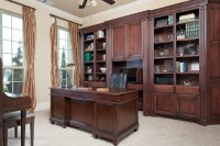 Custom Built-In Cabinetry - Traditional - Home Office ...
