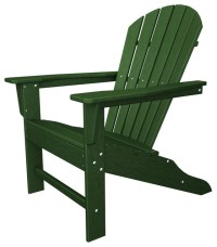 Eco-friendly Adirondack Armchair in Green - Contemporary ...