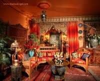 Moroccan Home Decor Ideas - Mediterranean - Living Room ...